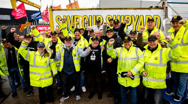 Harland and Wolff workers