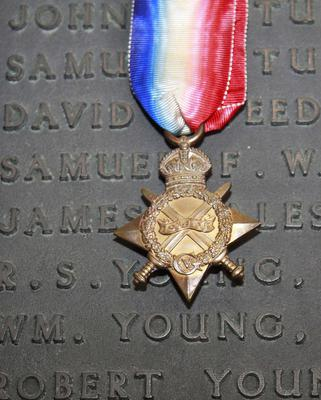 Captain Young's war medal
