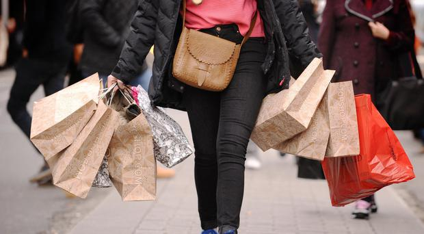 While shoppers look forward to the Boxing Day sales, staff can harbour concerns, a survey indicates (PA)