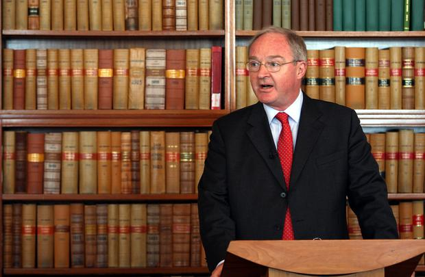 "Sir Declan Morgan, the Lord Chief Justice, said legacy was put in a box marked ""too difficult"" in 1998 (Paul Faith/PA)"