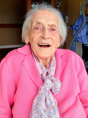 Centenarian: the late Ethel Barbour