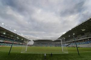 There will be no fans at Windsor Park for Monday's game against Norway