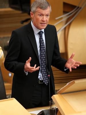 Scottish Liberal Democrat party leader Willie Rennie said there should not be a second independence referendum (Jane Barlow/PA)