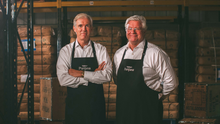 Concerned: Thompson's Tea joint managing directors Ross and David Thompson
