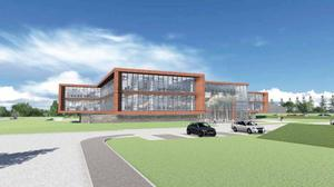 An artist's impression of the planned new DARD headquarters