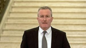 Stormont Finance Minister Conor Murphy delivered next year's Budget (Liam McBurney/PA).