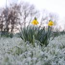 The temperature dropped to almost -7C in one part of England (Steve Parsons/PA)