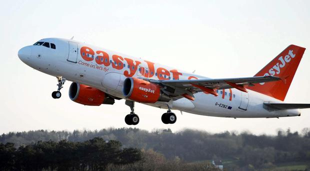 Angry Belfast-bound passengers have accused easyJet of