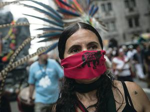 People protest for greater action against climate change in New York