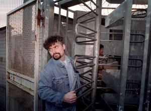 Michael Stone leaving the Maze Prison, near Belfast, on Christmas release in 1999 (Archive/PA)