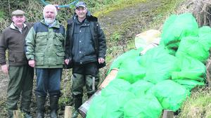 In case you can use the pic I sent to Tidy NI, the people in the shot are (L-R) Raymond McClelland (Vice Chairman Kesh and District Angling Club), Stephen Hey (Chairman) and Billy Gilmour (Competition Secretary).