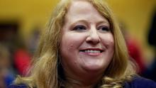 Alliance Party's leader Naomi Long.