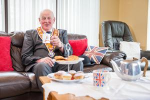Orange Order Grand Master Edward Stevenson has encouraged members and supporters to celebrate July 12 at home (GOLI/PA)