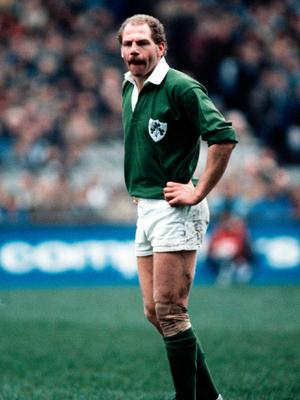Nigel Carr on Ireland duty in 1985
