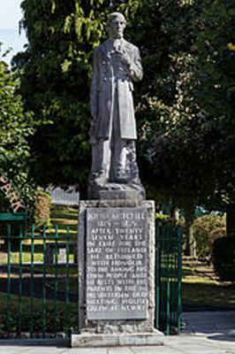 The statue of John Mitchel in Newry