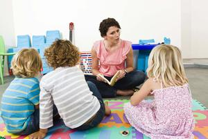 Many families here admit childcare costs put pressure on their budgets