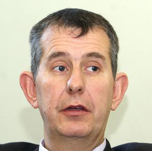 Health Minister Edwin Poots apologised over the proposed closure of elderly care homes