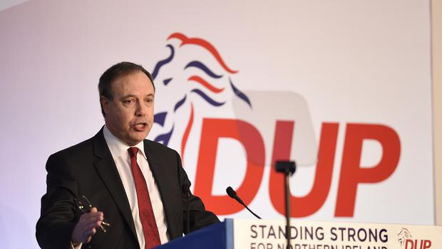 Nigel Dodds said the fundamental problems with the Brexit withdrawal agreement remain unchanged (Michael Cooper/PA)