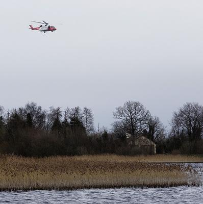 A body has been found after a search for a missing angler at Lough Ree.