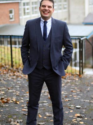 Christos Gaitatzis, principal of Omagh High School