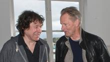 Sam Shepard with Stephen Rea at The Playhouse Theatre