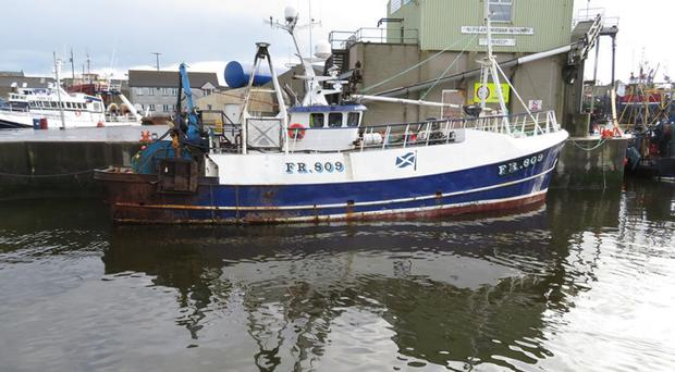 Scottish-registered Artemis was berthed in Kilkeel when skipper Andrew Hay died aboard after spending three hours in a pub drinking beer and whiskey