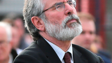 Gerry Adams has lent his support to Thomas 'Slab' Murphy