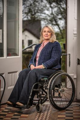 Mary Hannon-Fletcher battled both her spinal injury and prejudice