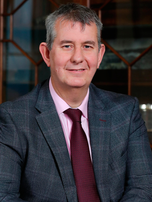 Agriculture Minister Edwin Poots