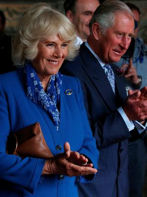 Charles and Camilla in Donegal during their visit to the Republic in 2016