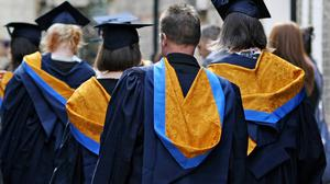 Record numbers are heading for university this year