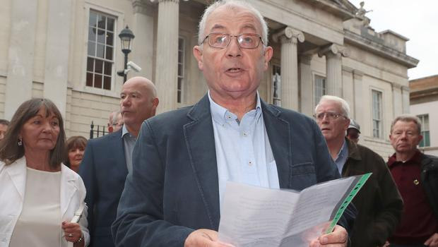 Micky McKinney, whose brother Willie was killed on Bloody Sunday (Liam McBurney/PA)