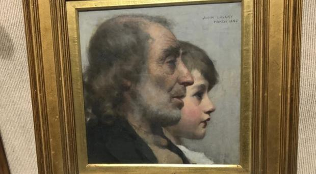 'Youth And Age' will be returned to its rightful owner, a college in England