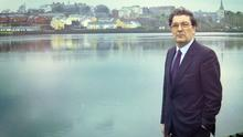 John Hume in Londonderry in 1994