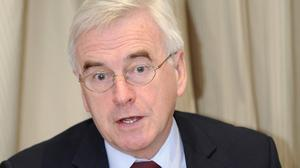 Shadow chancellor John McDonnell has apologised for comments he made 12 years ago about the IRA