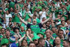 Northern Ireland fans at Euro 2016 in France