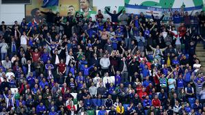 Some Linfield fans are considering a boycott of opposition grounds when the Irish League returns. (Stock image)