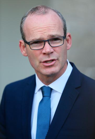 The Republic's Foreign Minister Simon Coveney