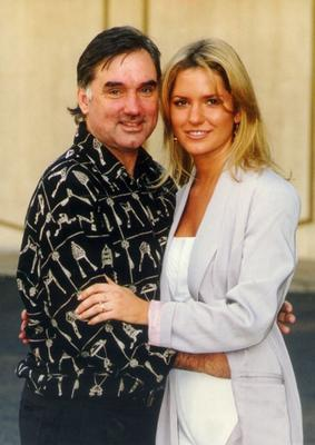 Alex with George Best in 1995