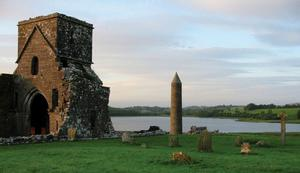 Woman was walking her dog on Devenish Island in Fermanagh when she was attacked by cattle