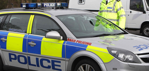 Police are investigating an armed burglary in which an 18-year-old was held at knifepoint in the Crumlin Road