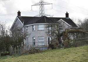 Stabbing: the house in Larne