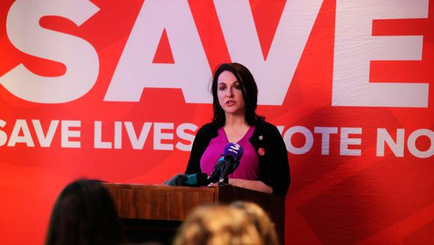 Niamh Ui Bhriain, head of Save the 8th campaign