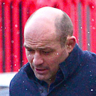 Ireland rugby captain Rory Best outside court earlier in the trial