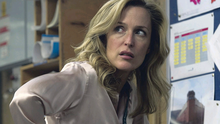 Gillian Anderson as detective Stella Gibson leading the hunt for a serial killer in The Fall, which was shot in Belfast