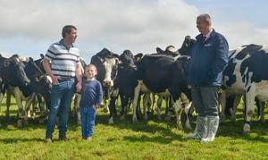 Mr Poots visited Hollowbridge Farm near Hillsborough in Co Down on Wednesday and said the intervention reflected the deep and complex challenges the industry faced (Simon Graham/Daera/PA).