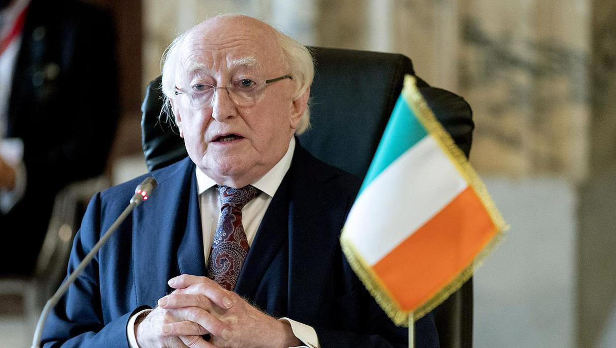 I'm president of Ireland: Michael D Higgins hits out at DUP and denies snubbing NI centenary event