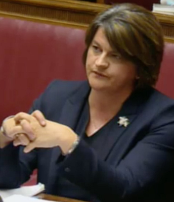 Arlene Foster gives evidence to the RHI Inquiry.