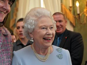 Meet and greet: The Queen during her visit to Northern Ireland in 2010