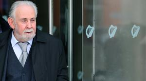 John Downey at the Criminal Courts of Justice in Dublin (PA)